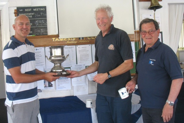 Centenary Cup won by David Baker and Jim Green