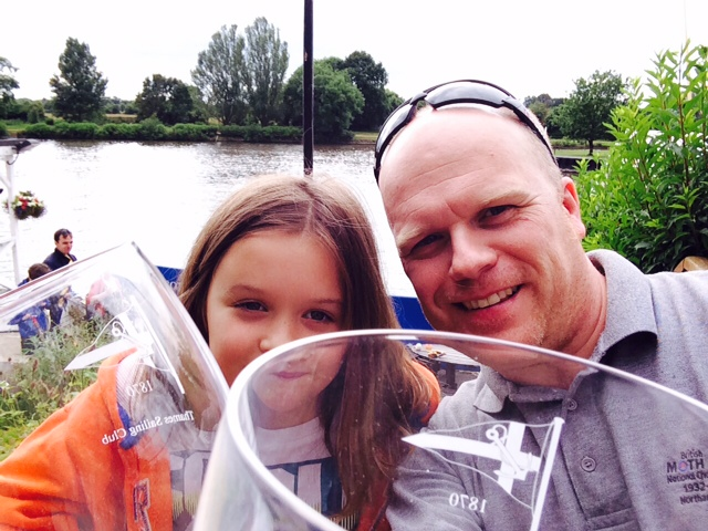 Rob and Helen Wilder win Thames Challenge Cup in Flinkidink