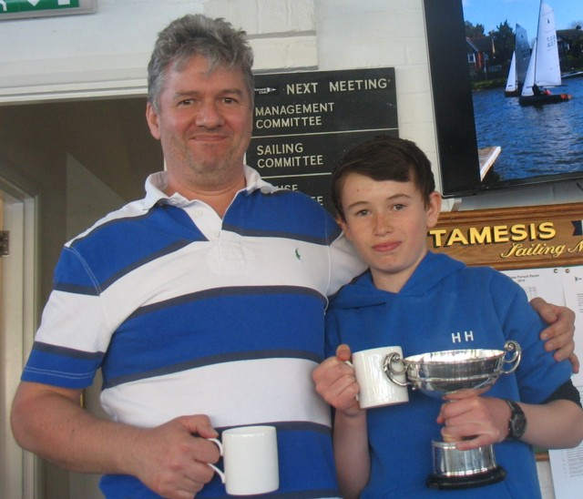 Sondown Cup and Elizabeth Bowl won by Richard and Harry Harris