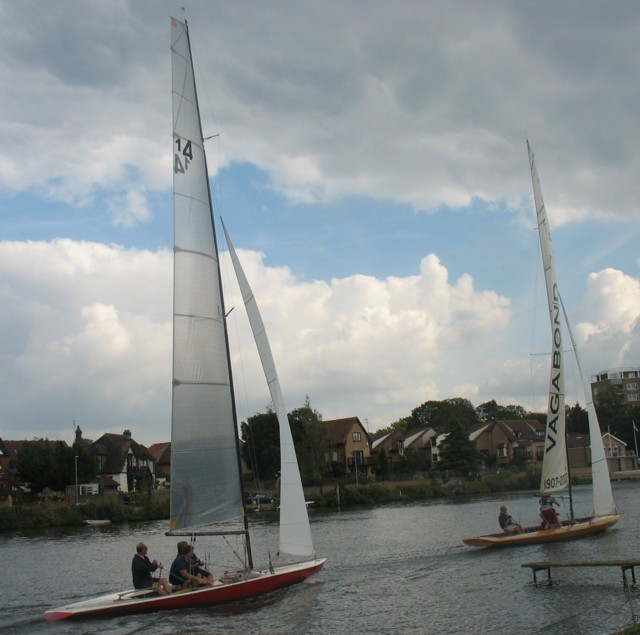 50 sailors take part in keenly competitive Autumn Regatta