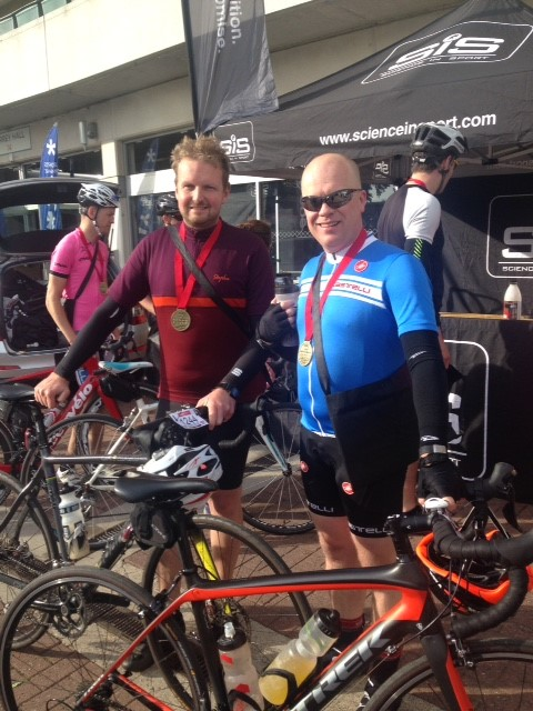 Rob and Joe smash the Original Box Hill sportive