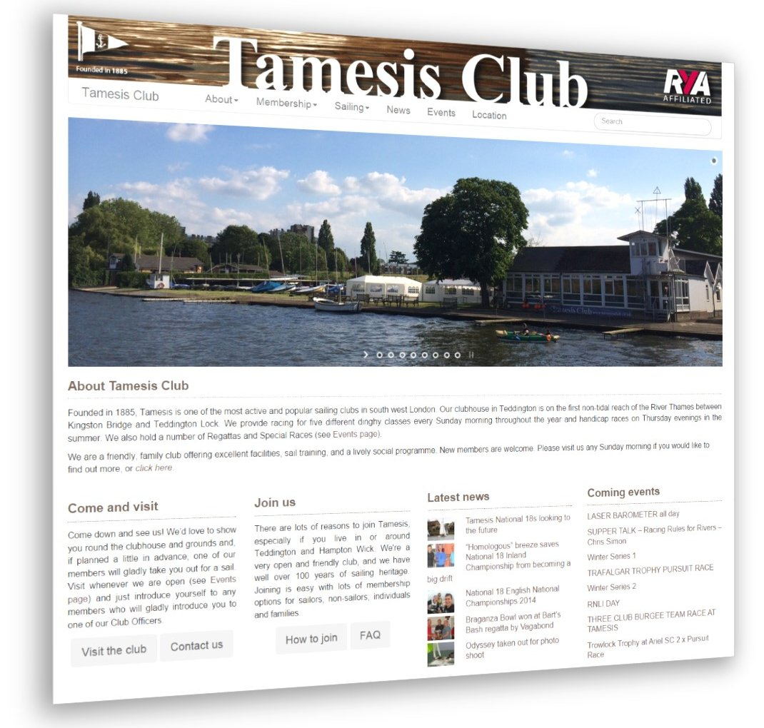 Welcome to the new Tamesis Club website!