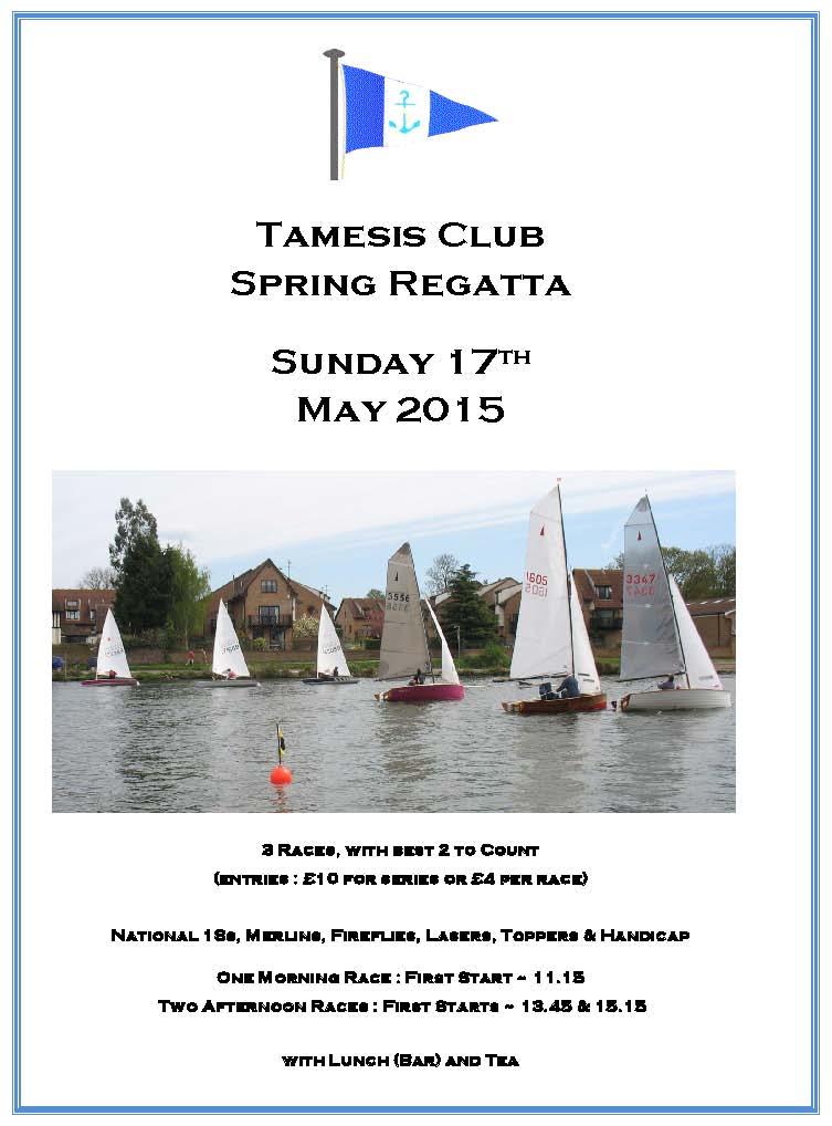 Spring Regatta 17 May