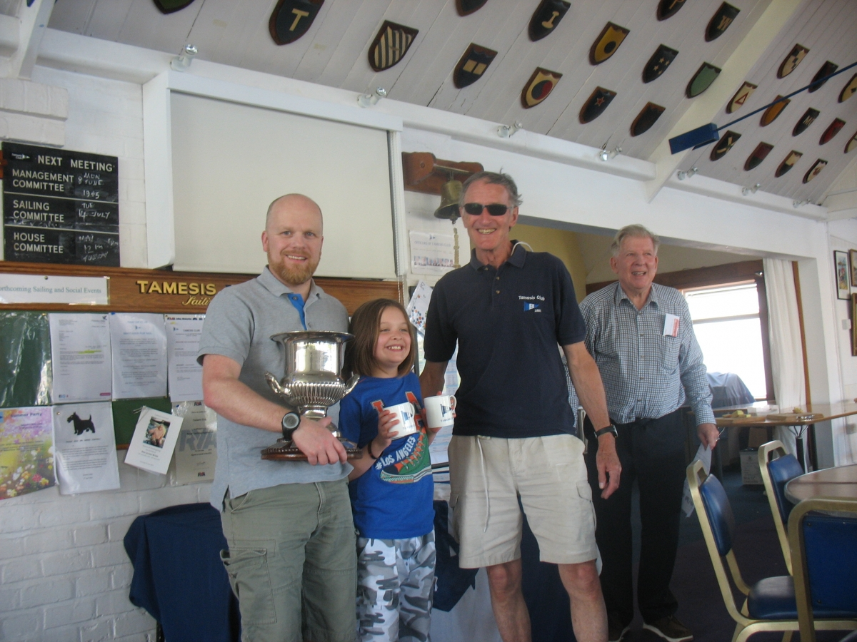 Rob and Milly Wilder win Centenary Cup