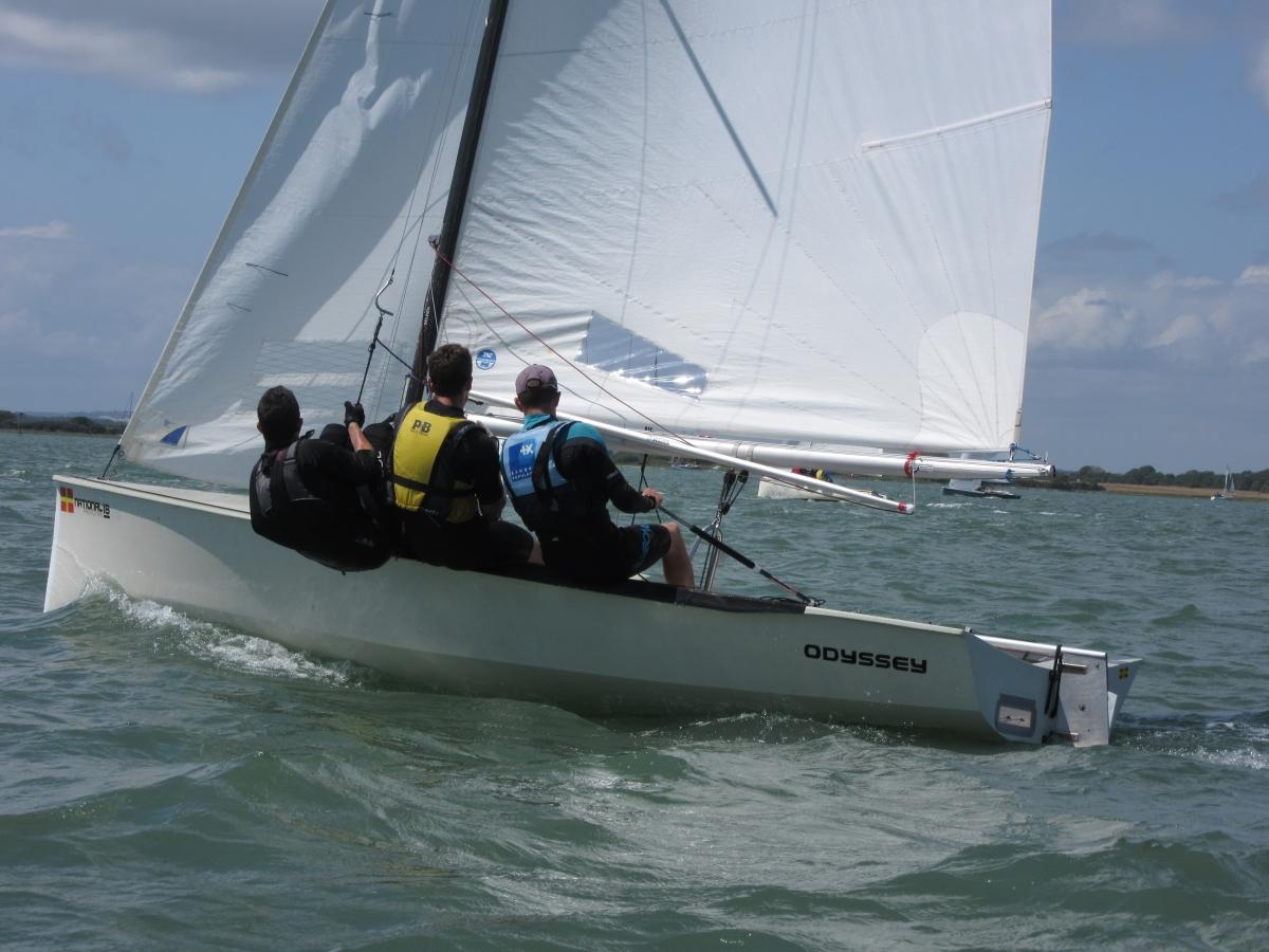 Tamesis bring it home at the National 18 English National Championships
