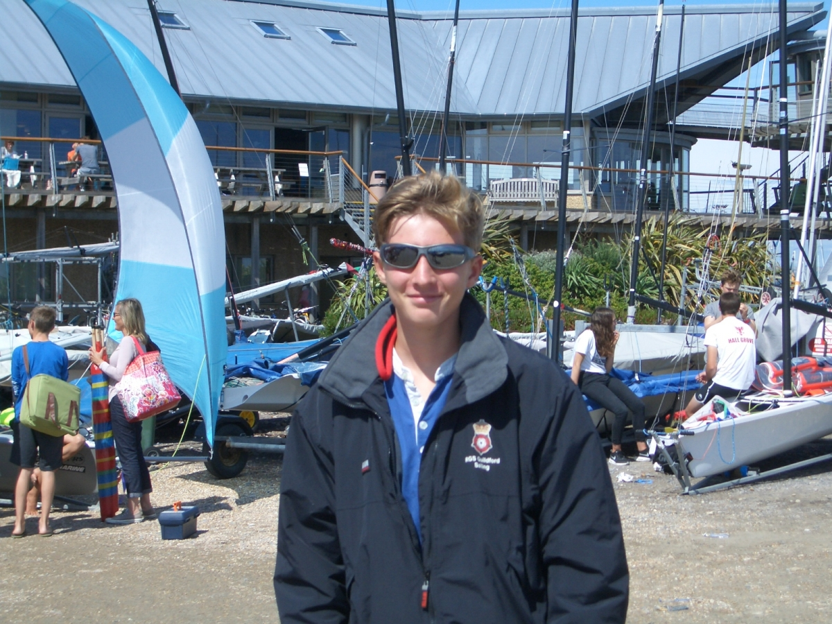 Nick Forbes 8th at Chichester Harbour Federation Week