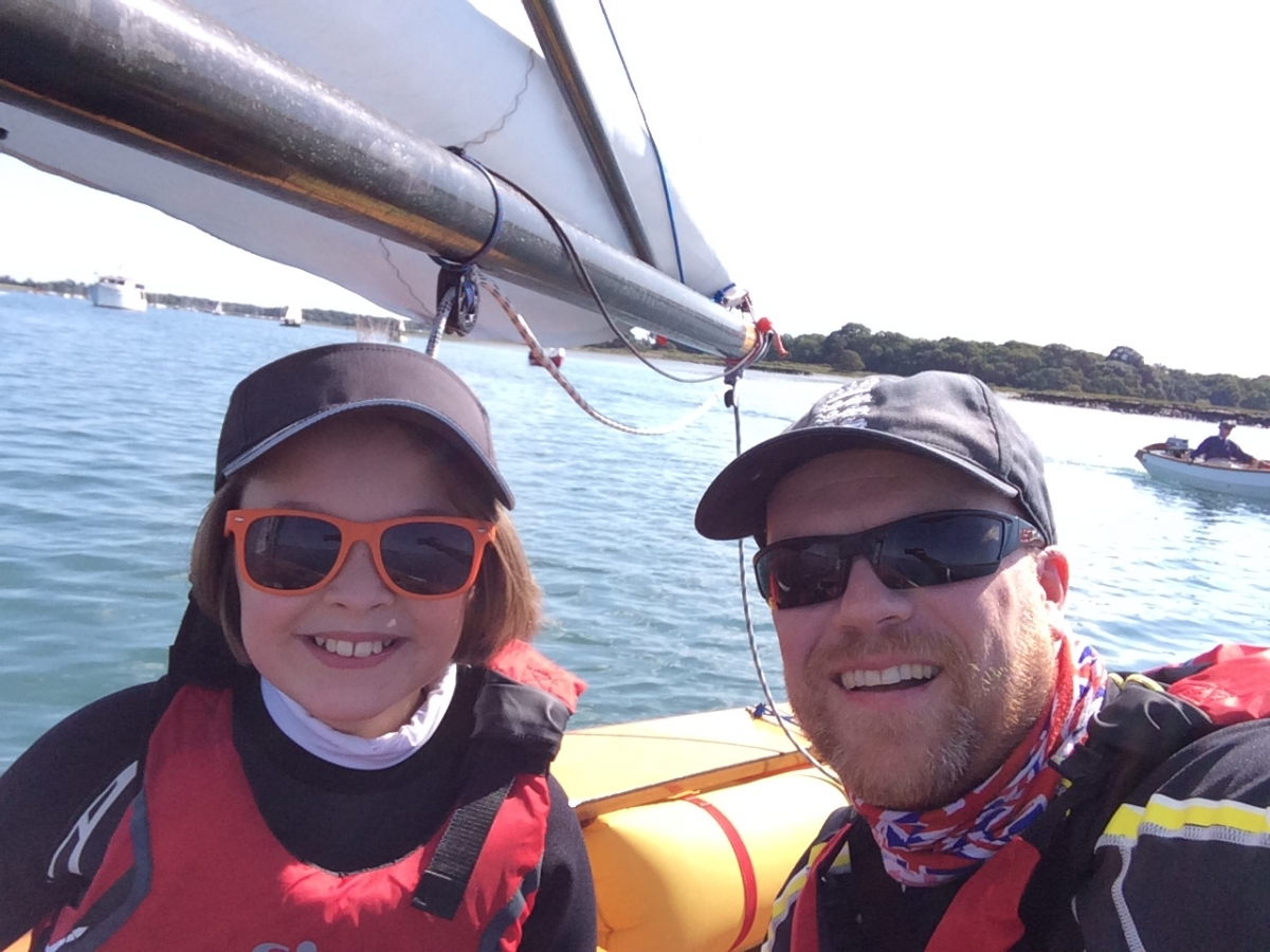 Rob and Milly Wilder second overall at Bosham