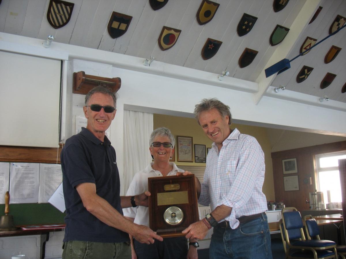 Jon Redding wins Laser Barometer for second time