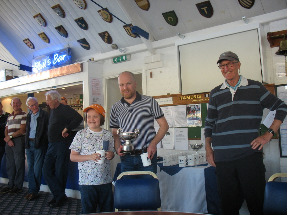 Rob and Milly Wilder win the Porteous Cup