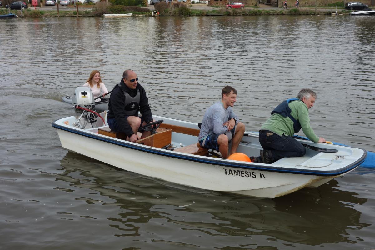 Canoe Rescue at Tamesis