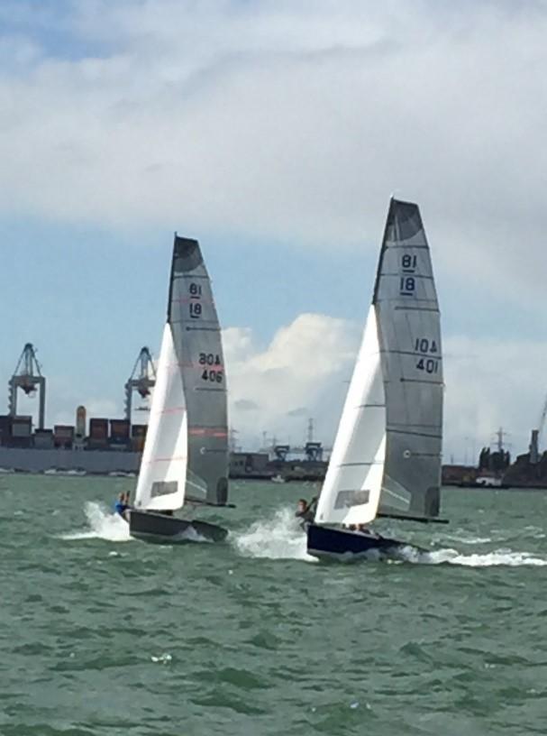 Nat 18s at Southampton Boat Show