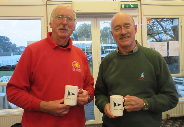 Chris Rowsell and Alastair Stewart win Trowlock Trophy