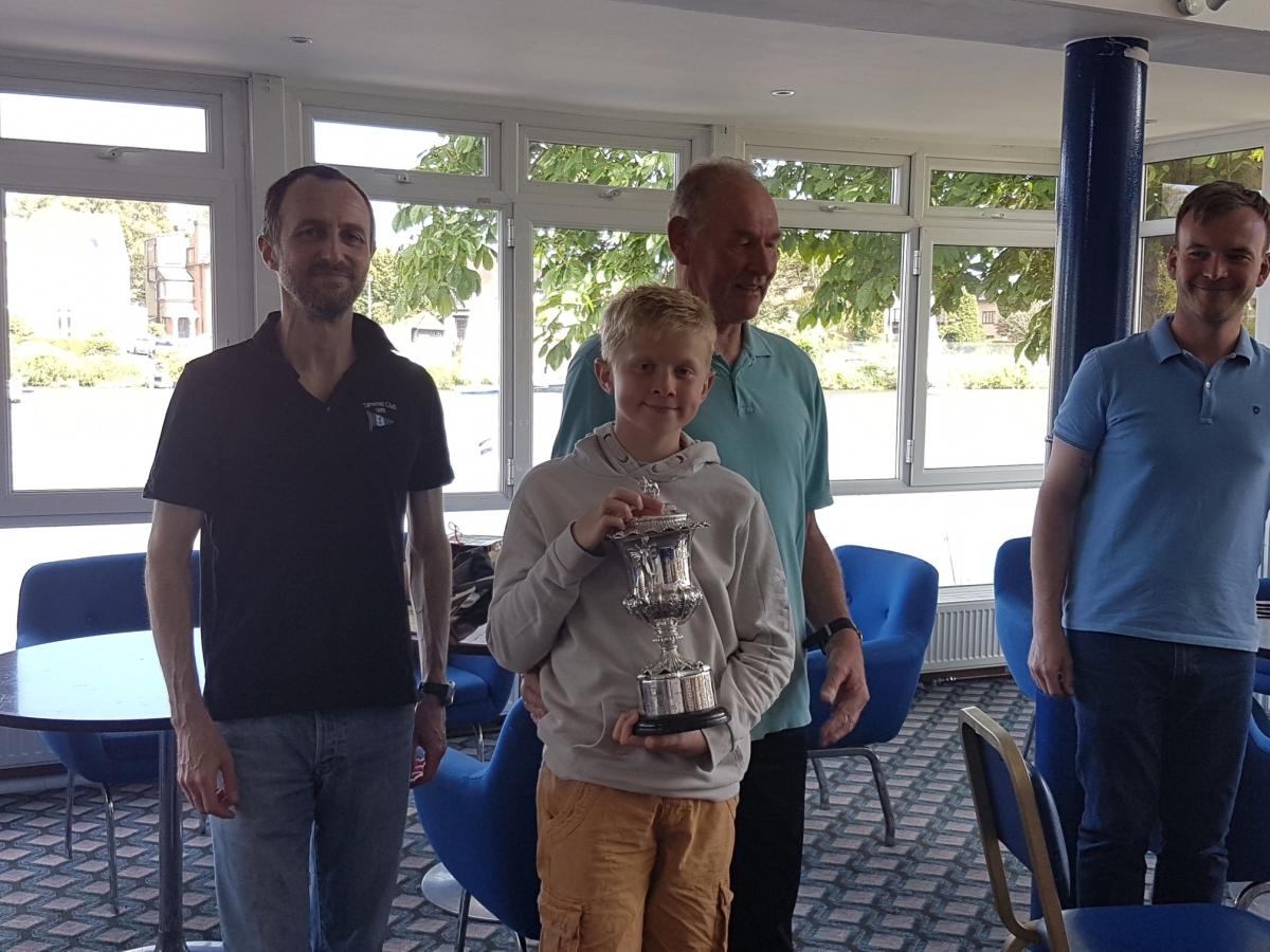 Ken Duffell wins Queen Adelaide Cup