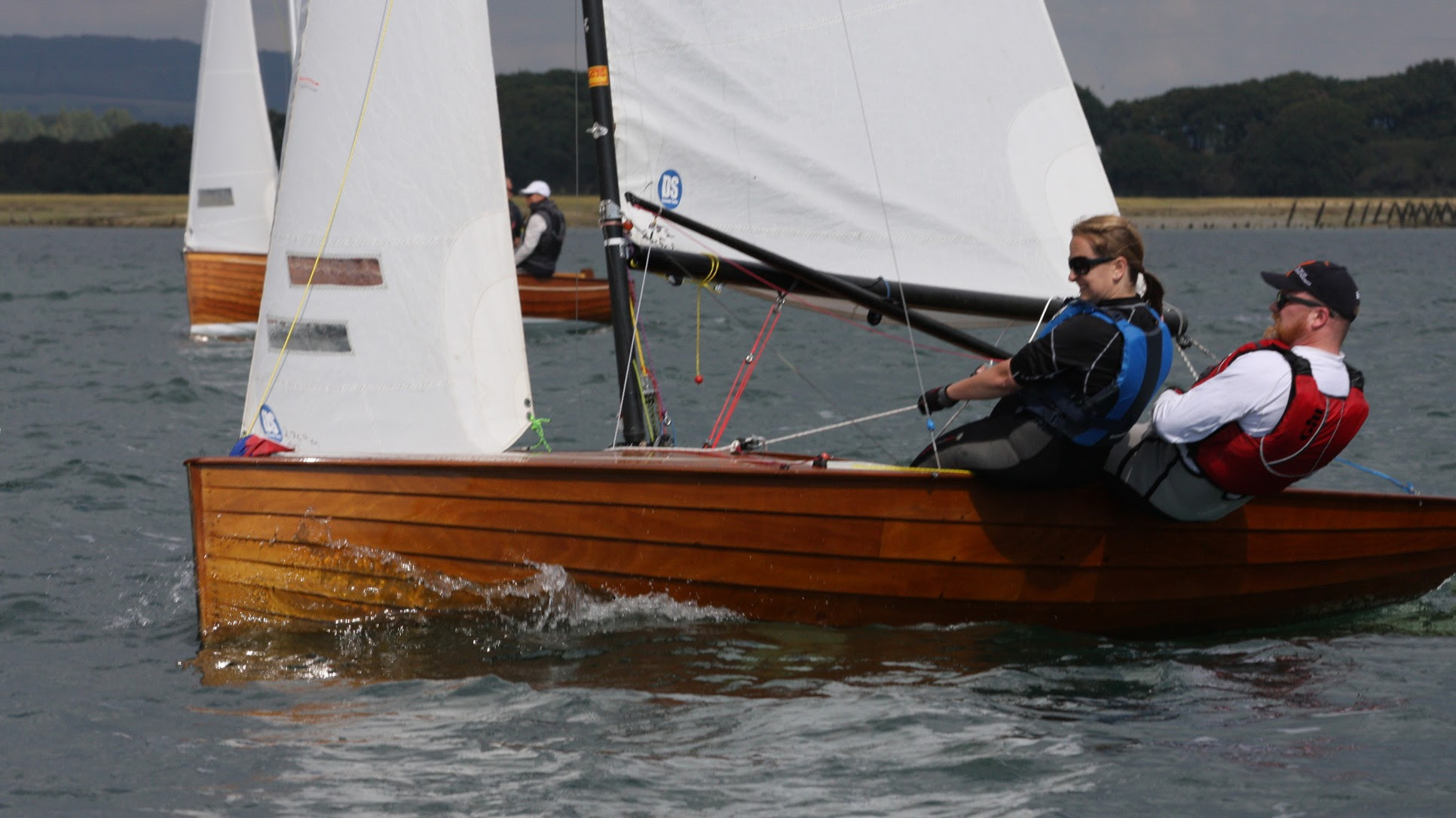 Rob and Helen Wilder 7th at Bosham Classic Boat Revival
