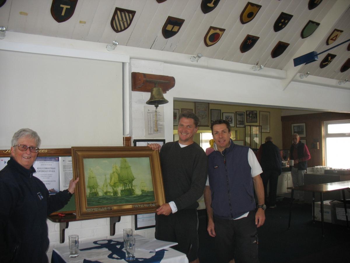 Andrew Harris wins Trafalgar Trophy