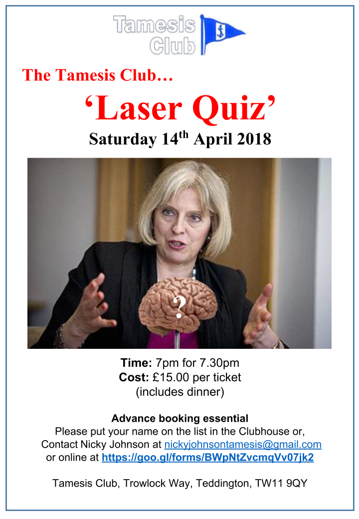 Fun Laser Quiz Night