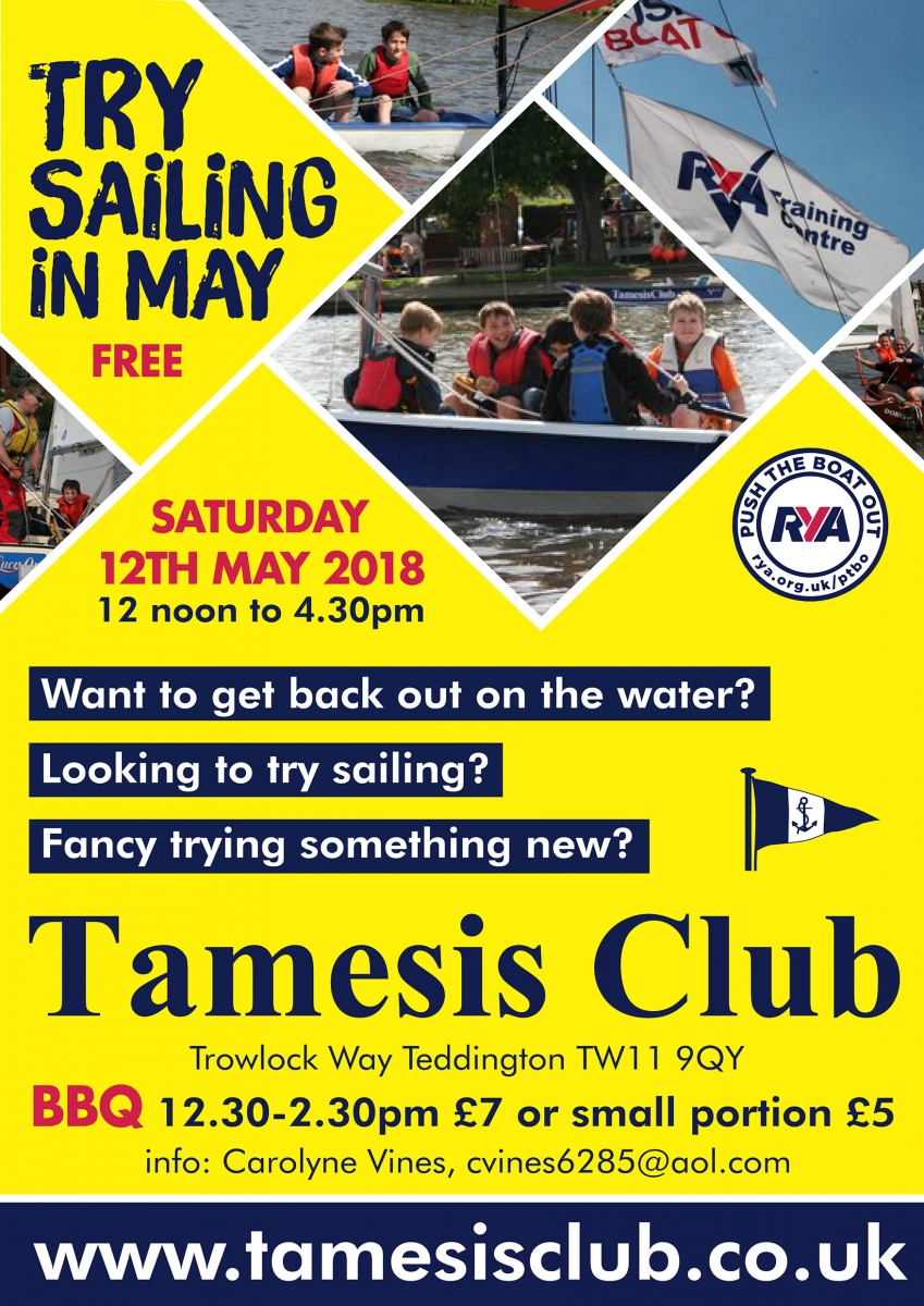 Rainy Push the Boat Out Day a Great Success