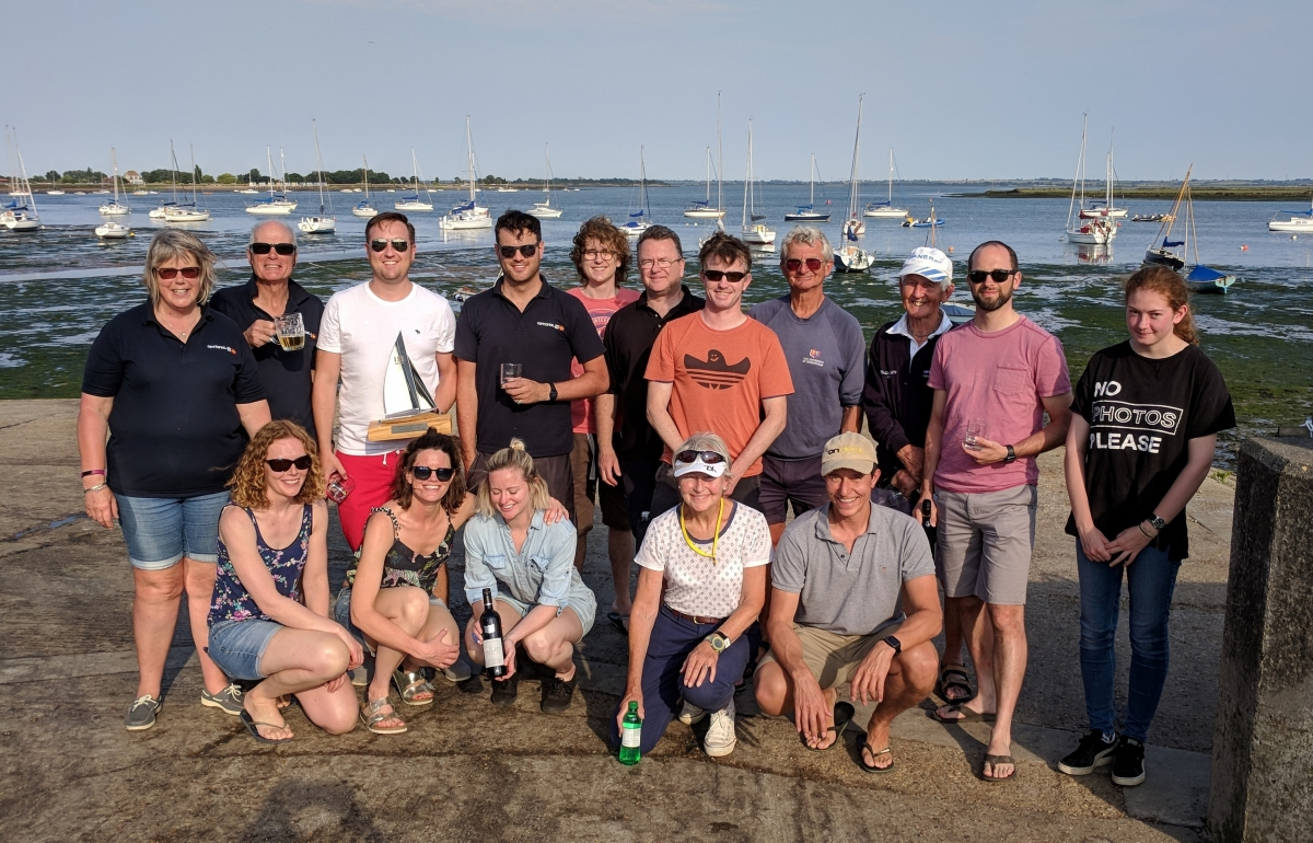 National 18 Ultras push it to capsizing at Blackwater for N18 English Trophy