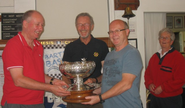 Braganza Bowl won at Bart's Bash regatta by Vagabond