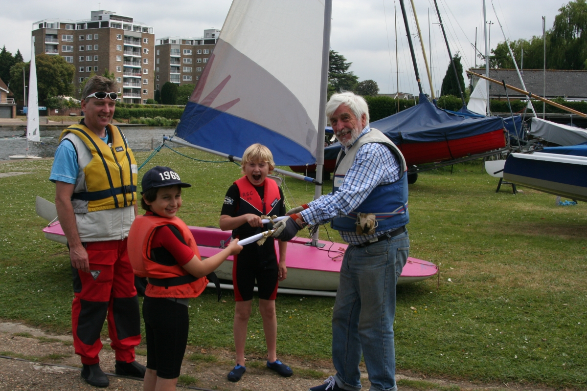 First RYA certificates awarded