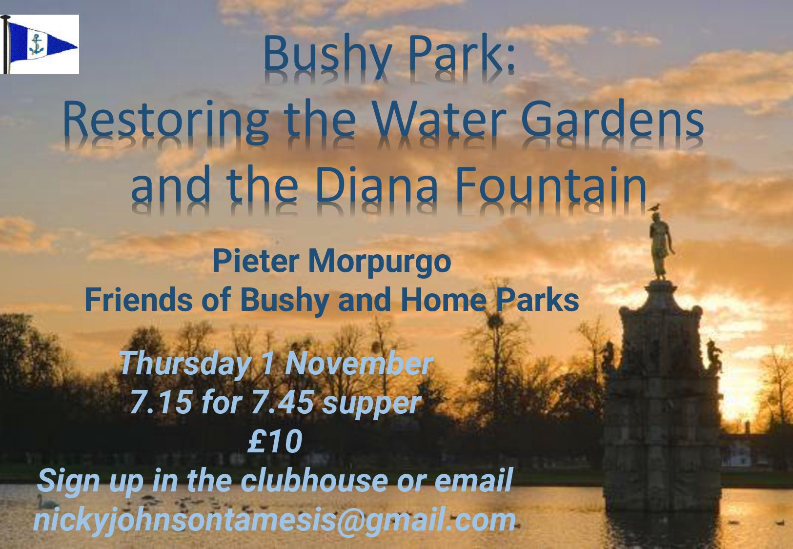 Fascinating Talk on Bushy and Home Park