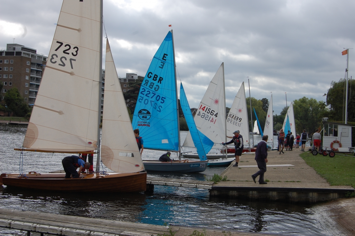 Blustery Autumn Regatta
