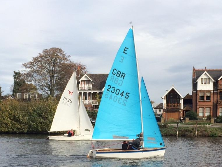 Returning sailors win the Trowlock Trophy