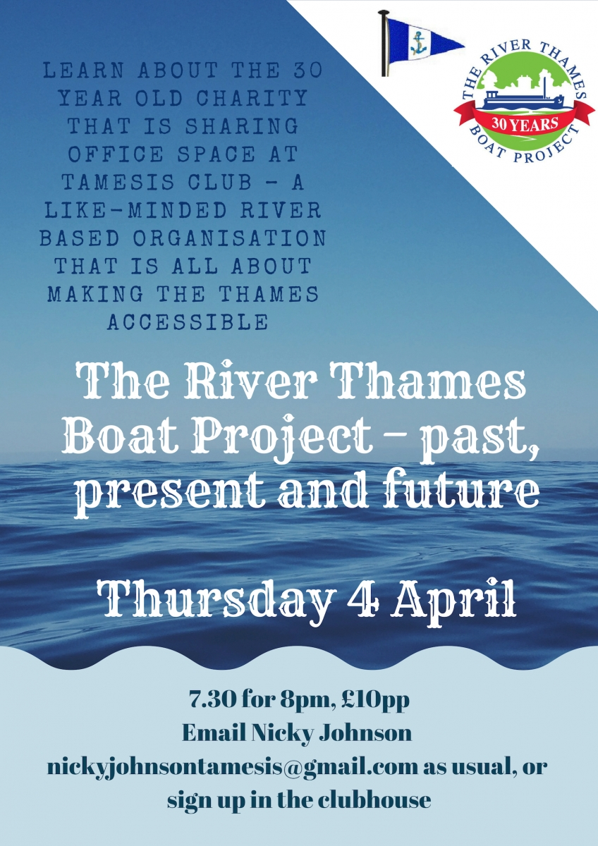 River Thames Boat Project talk