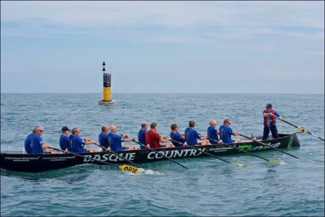 Jock Wishart and crew claim new Channel Rowing Record